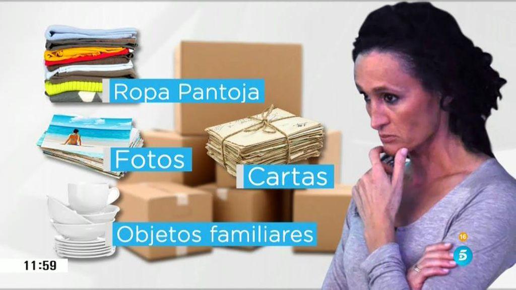 Las cajas que quiere recuperar Dulce contienen material sensible, según Barrientos