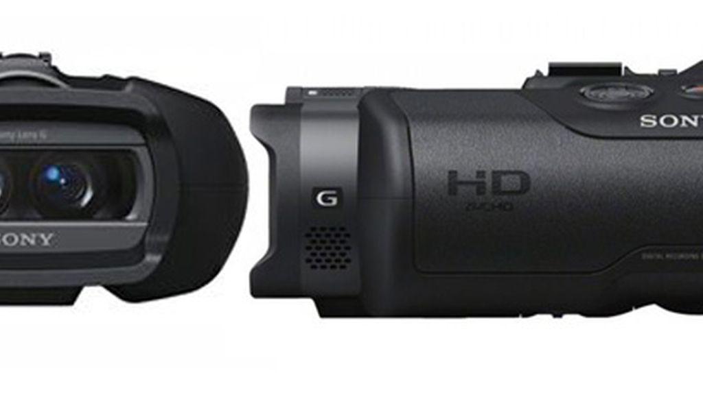 La nueva joyita de Sony: prismáticos que hacen fotos y vídeos en HD.