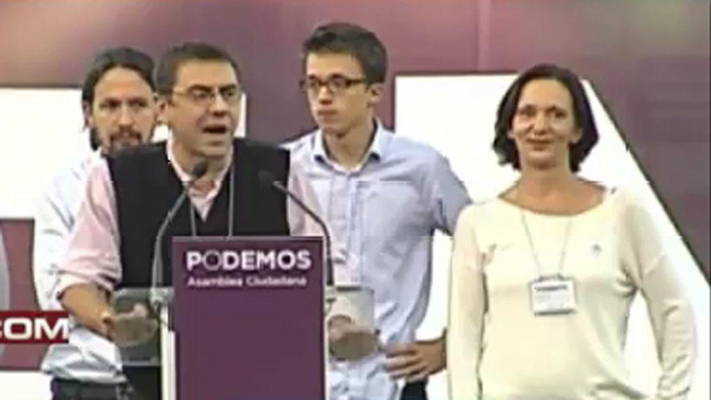 """Monedero matiza sus palabras: """"Mi partido es lo más decente en la política española"""""""