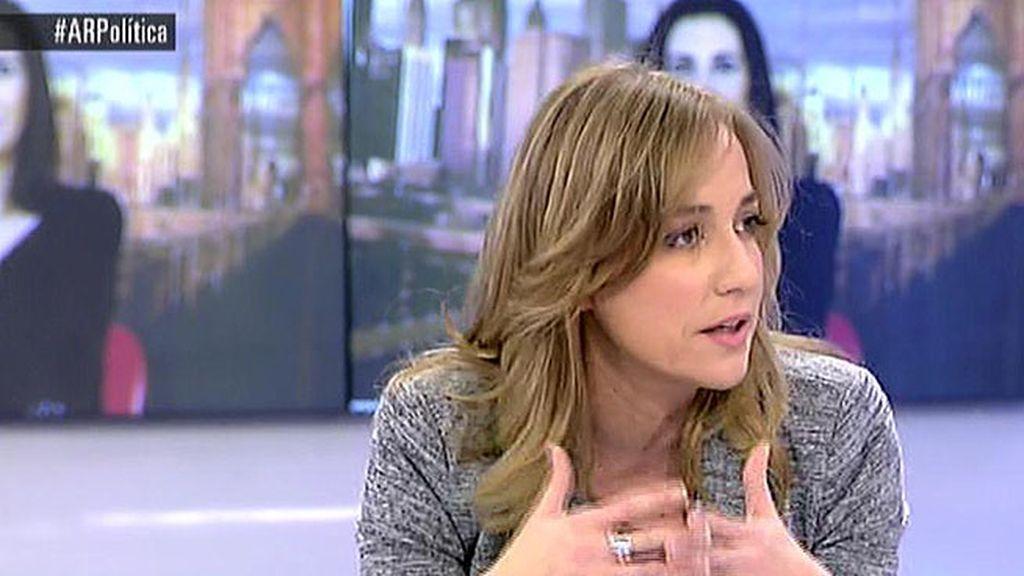 """Tania Sánchez, tras la admisión a trámite de la querella: """"No va  a ir a ningún sitio"""""""