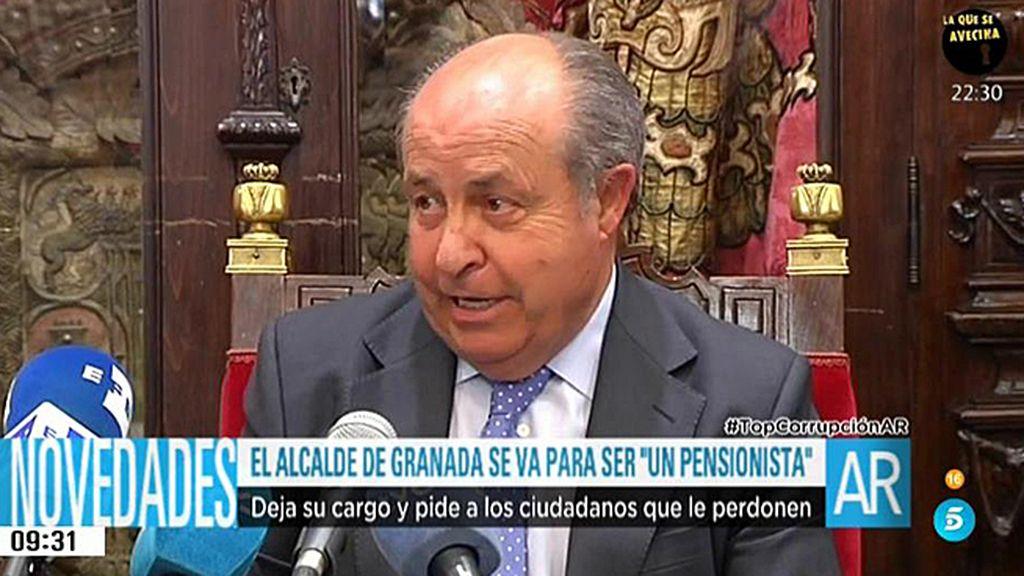 El alcalde de Granada dimite tras haber asegurado su absoluta inocencia