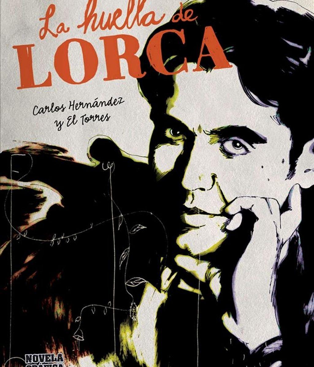 """Portada de """"La huella de Lorca"""", del dibujante granadino Carlos Hernández y el guionista """"El Torres"""", la primera novela gráfica dedicada a Federico García Lorca, que relata, mediante el cómic, diferentes momentos de la vida del poeta a través de los ojos de las personas que le conocieron o compartieron con él parte de su vida. EFE"""