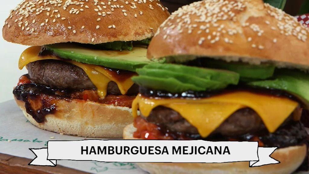 Robin Food termina la semana con una hamburguesa mejicana chévere