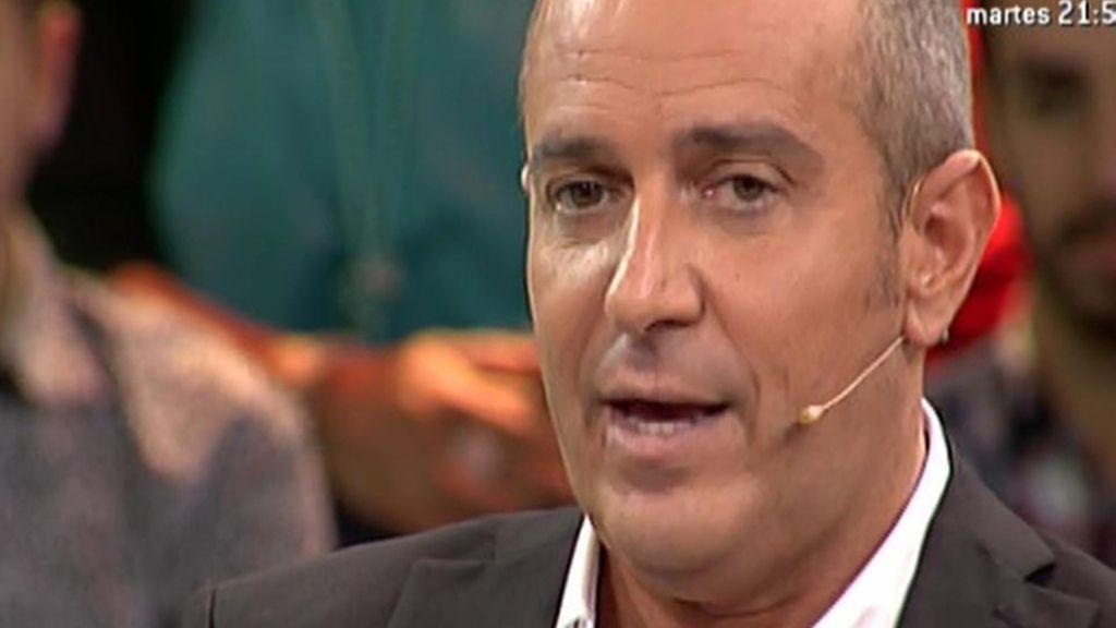 """Víctor Sandoval: """"Si Belén no hubiera hecho trampas, yo no estaría aquí"""""""