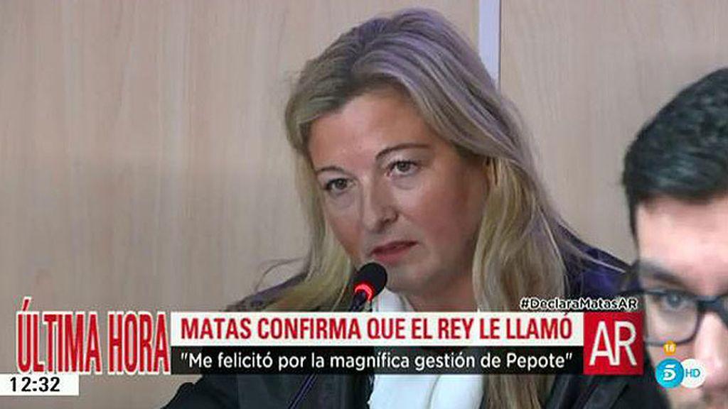 López Negrete pregunta a Matas por su relación con el Rey Juan Carlos