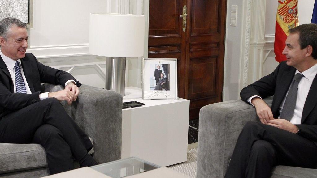 El presidente del Gobierno y el presidente del PNV en Moncloa