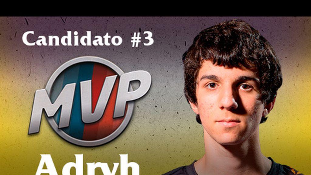 Adryh para MVP de la Final Cup 6