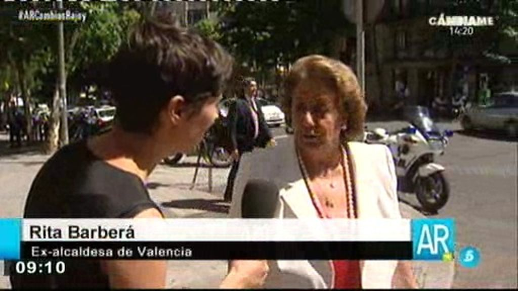 Marta Nebot, en la calle Génova tras los cambios del Partido Popular