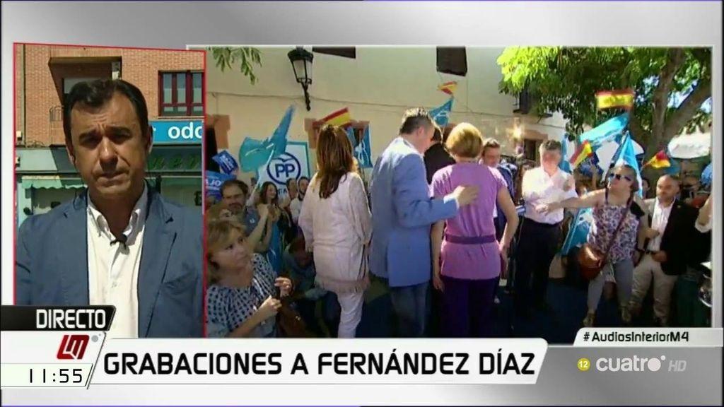 """Maíllo, ante la polémica con Fernández Díaz: """"Se trata de perturbar y enturbiar la campaña"""""""