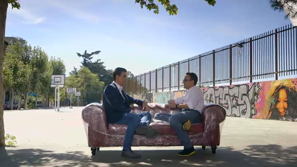 """Pedro Sánchez: """"Me iría a tomar una caña con la vicepresidenta antes que con Rajoy"""""""
