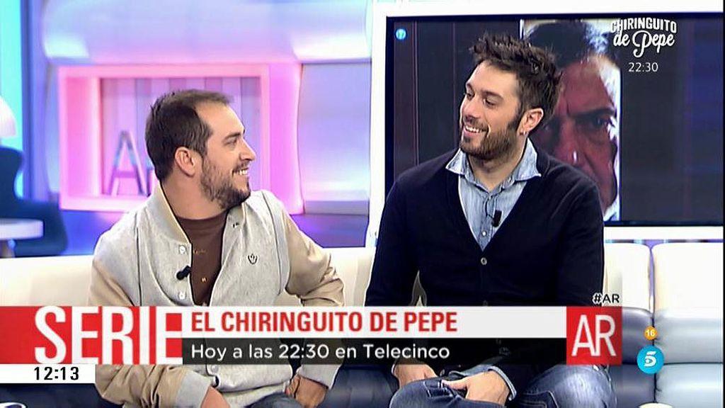 D. Martínez y 'El Langui' desvelan los secretos de 'Chiringuito de Pepe'