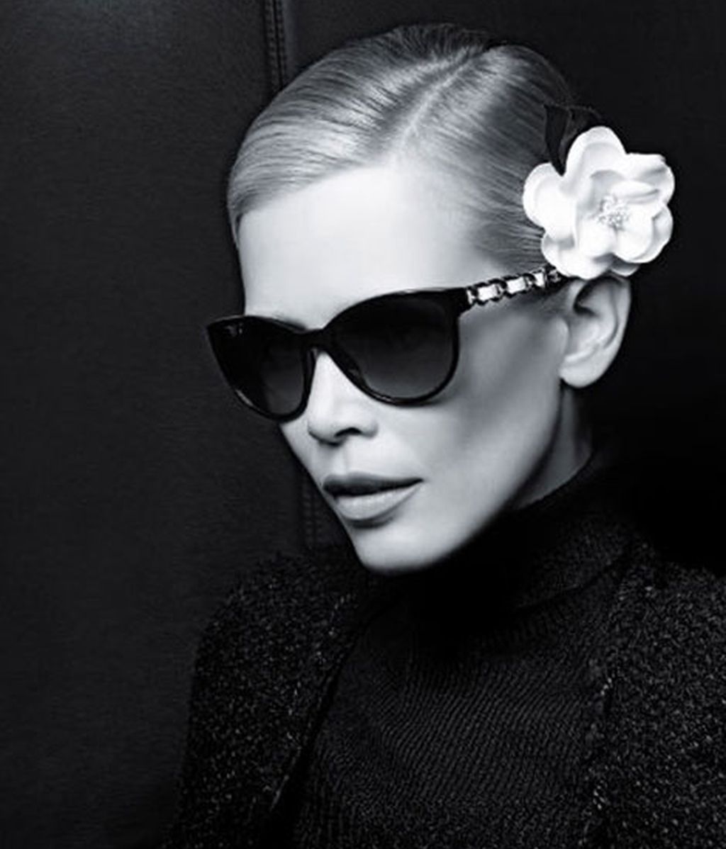 Claudia Schiffer, para Chanels Eyewear