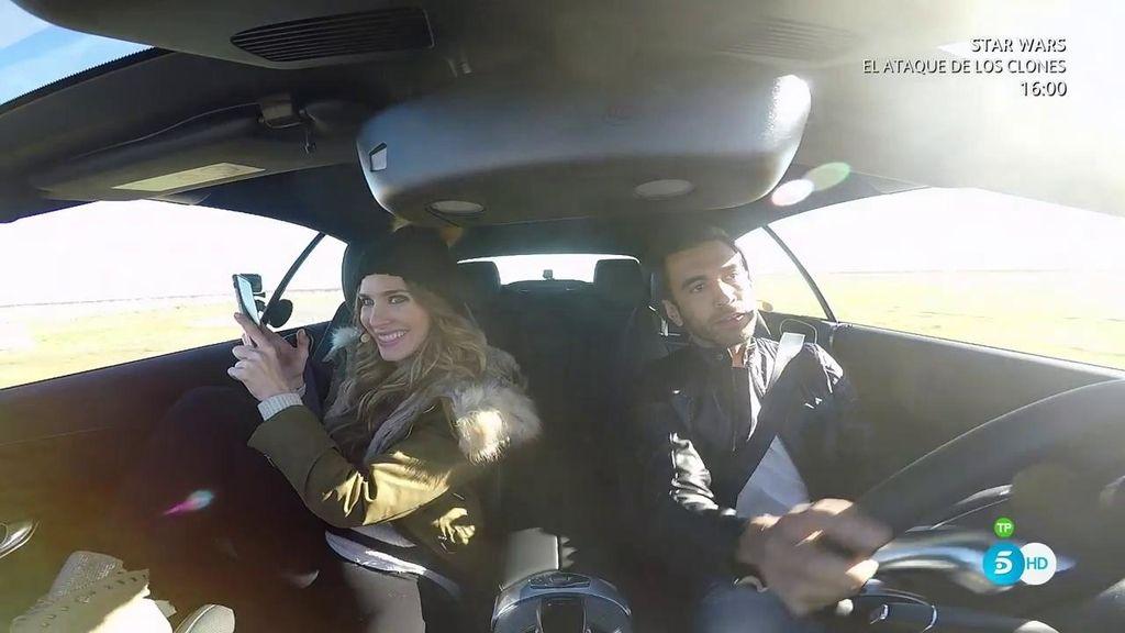 Vanesa Romero suelta adrenalina como copiloto con unos derrapes que cortan el hipo