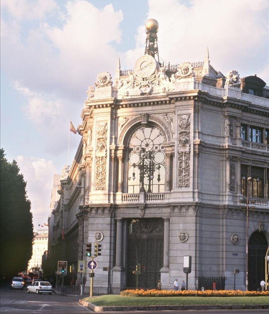 En la imagen, la fachada del Banco de España. EFE/Archivo