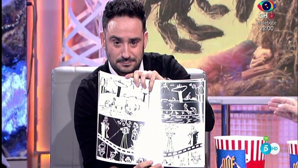 Juan Antonio Bayona recibe una sorpresa muy especial de su infancia