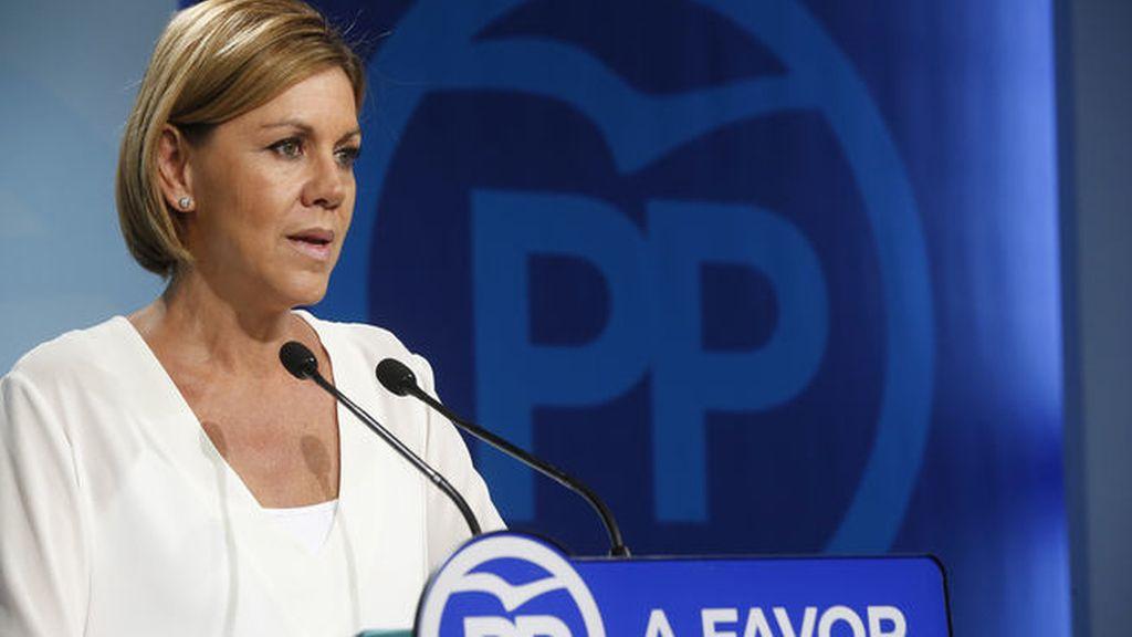Cospedal pide al PSOE que reflexione tras los malos resultados de Galicia y País Vasco