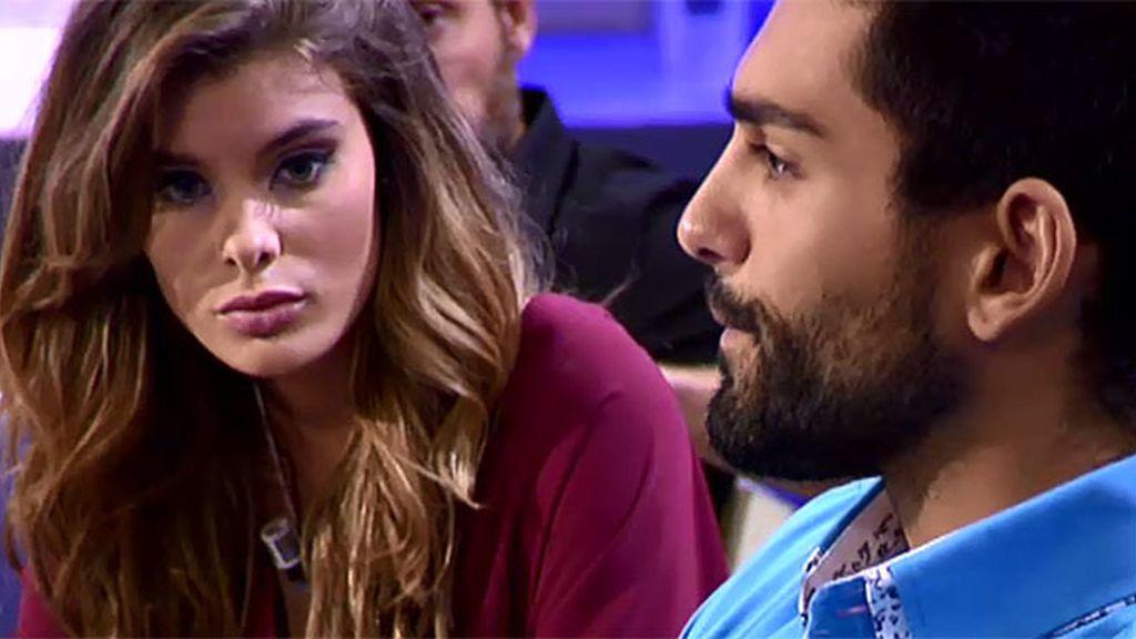 """Triana se disculpa con Isaac: """"Me gustas mucho y te pido perdón"""""""