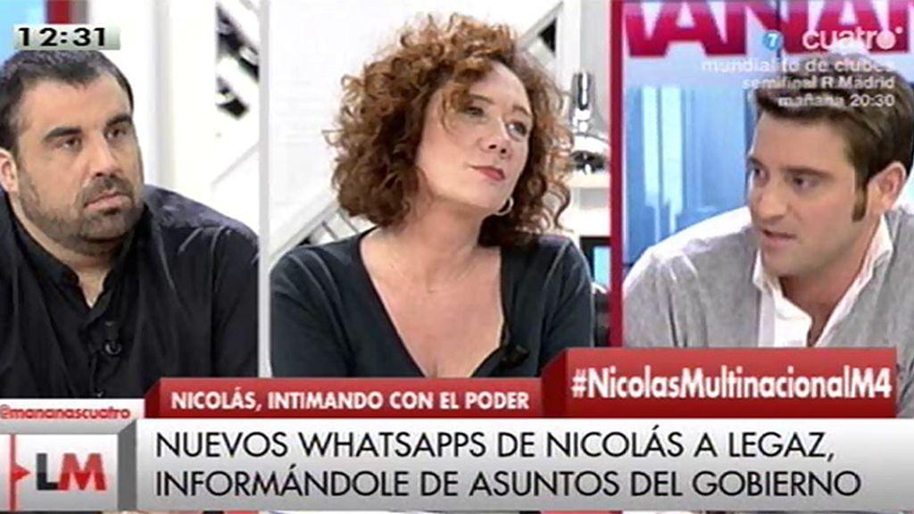 """Negre: """"Fco. Nicolás es muy amigo de un hijo de un alto cargo del Gobierno y gracias a él tenía información privilegiada"""""""