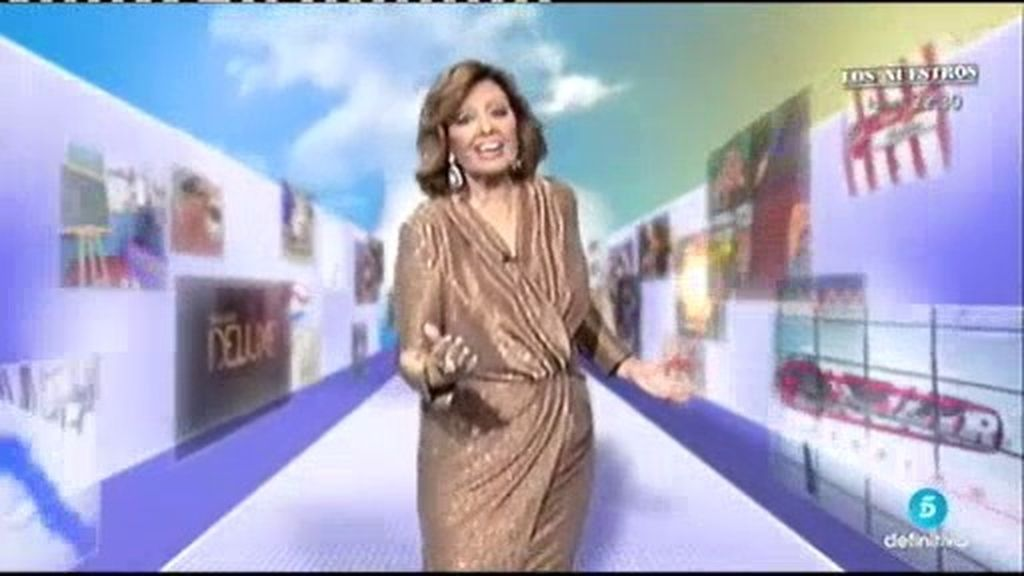 ¡Momentazo!: María Teresa Campos canta y baila por los 25 años de Telecinco