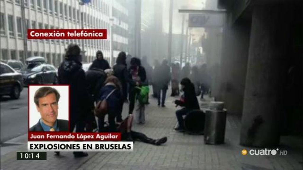 """López Aguilar: """"Hemos vuelto al parlamento europeo porque es nuestro lugar de trabajo"""""""