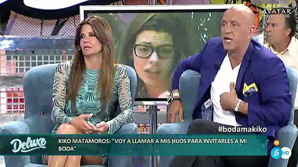 """Belén: """"Laura Matamoros me cuenta que Kiko le insiste en reconciliarse en una revista"""""""