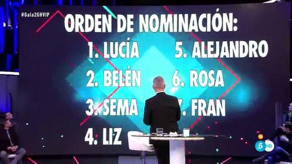 Los usuarios de la app de 'GH VIP' deciden el orden de las nominaciones