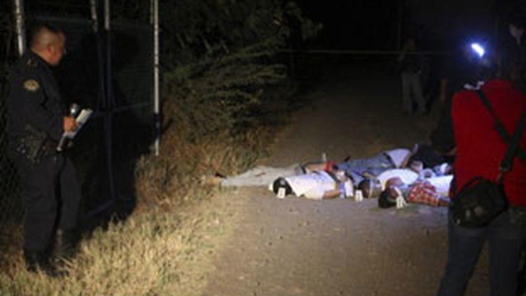 Hallan los cadáveres de 21 pesonas en la ciudad mexicana de Morelia. Foto: Reuters.