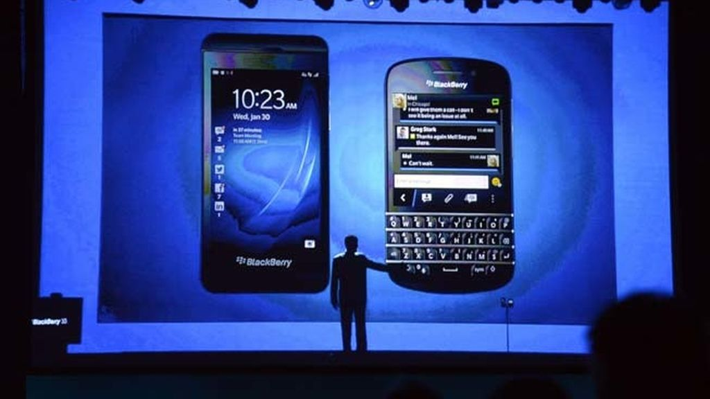 Se presenta la nueva BlackBerry Q10