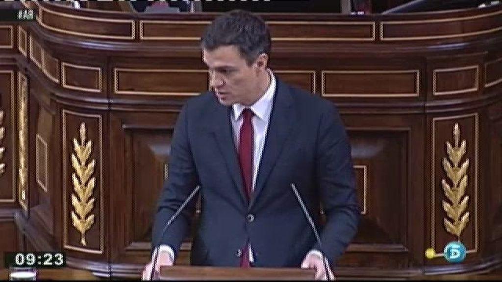 """Sánchez: """"La dimisión de Mato demuestra que todo era cierto"""""""