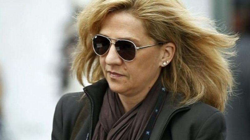 La Infanta imputada por delito fiscal pero no por blanqueo de capitales