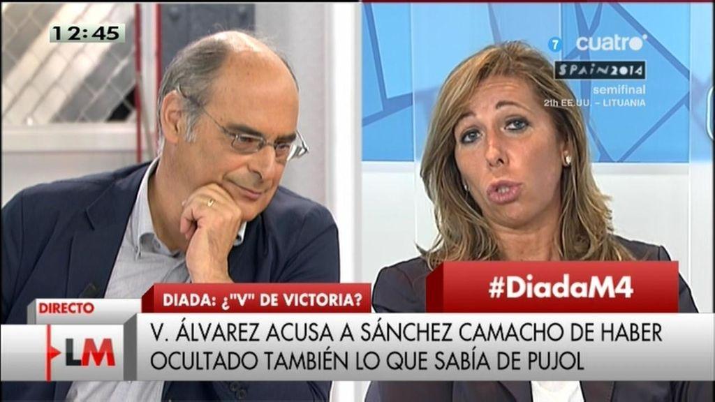 """Reixach, a Sánchez-Camacho: """"¿Por qué me ha puesto una demanda de 200.000 euros?"""""""