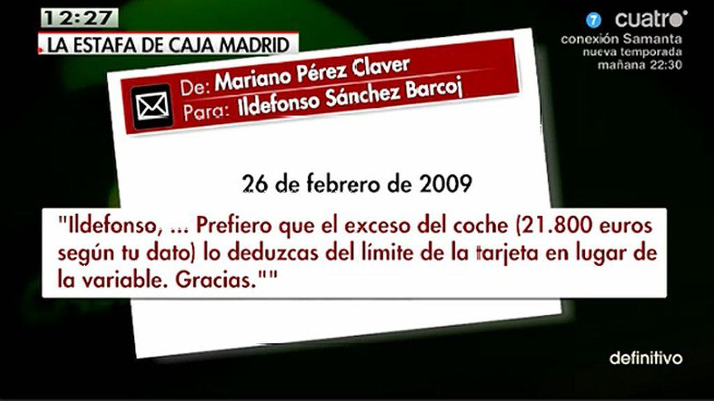 La cúpula de Caja Madrid cargó gastos de sus coches de lujo a sus tarjetas, según 'El Mundo'
