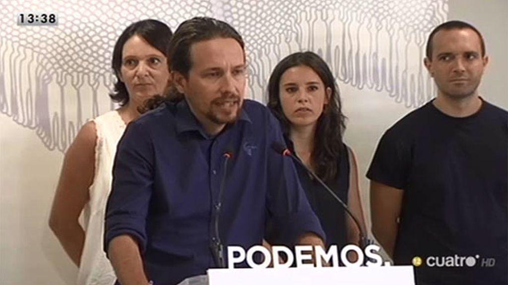 Pablo Iglesias insiste en que Podemos sale a ganar las elecciones generales