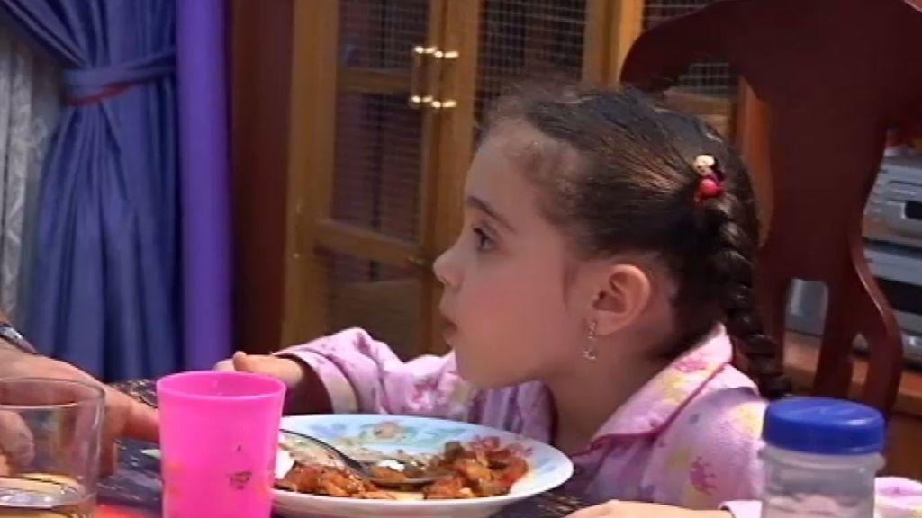 Mercedes no quiere comer
