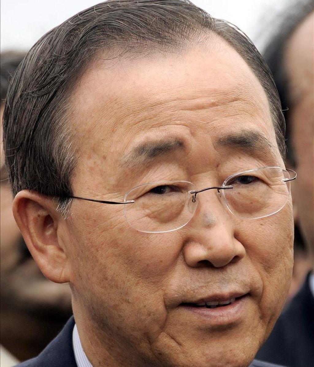 """El portavoz de la ONU, Martin Nesirky, explicó que Ban quiere hablar """"lo antes posible"""" con Ouattara para trasladarle su """"gran preocupación"""" acerca de la situación humanitaria en la que se encuentra el país africano. EFE/Archivo"""