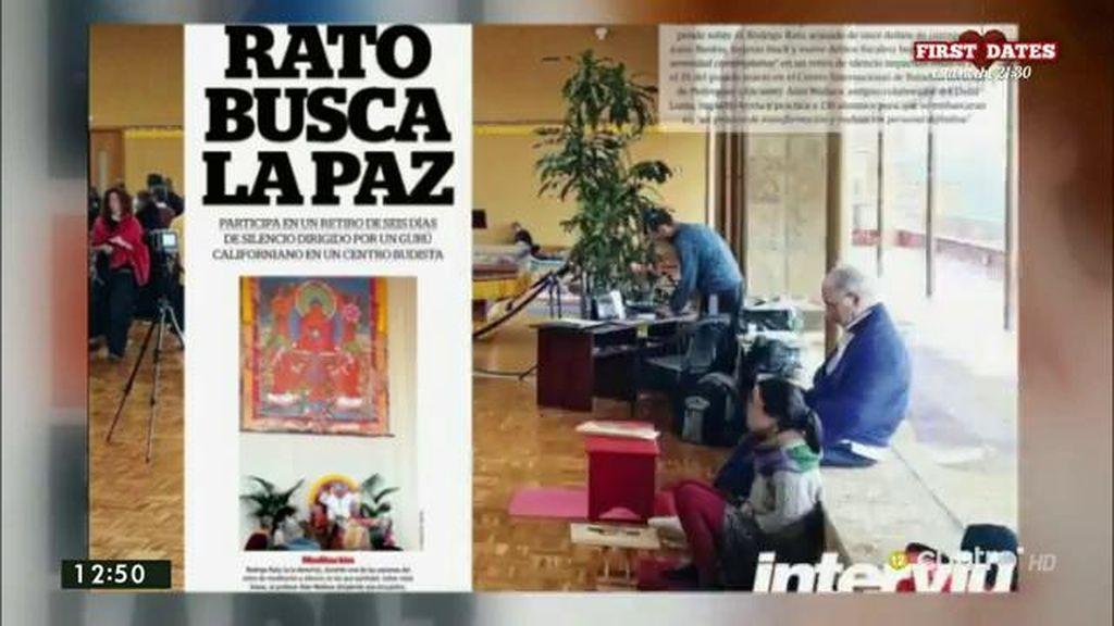 Rodrigo Rato participa en un seminario en un monasterio Budista, según 'Interviú'