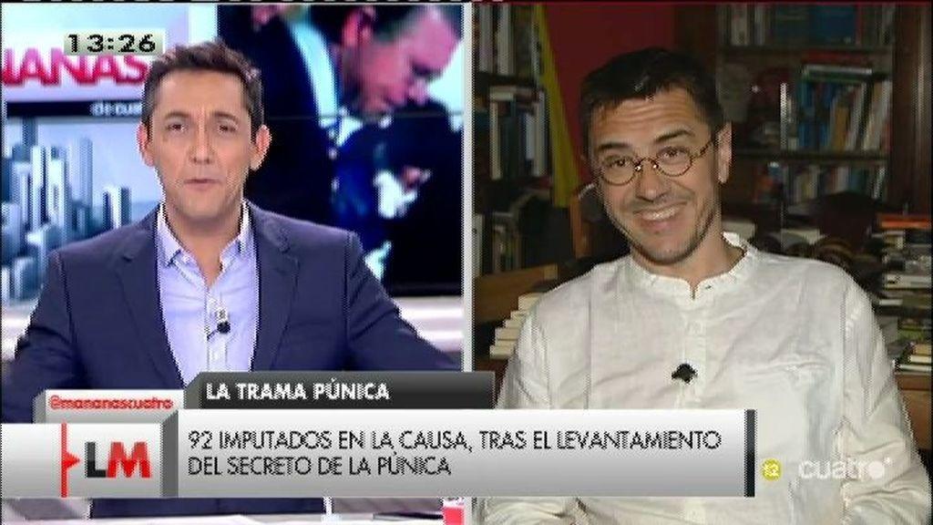 """Monedero: """"Rivera ha apuntalada al peor PSOE de Andalucía y al peor PP de Madrid"""""""