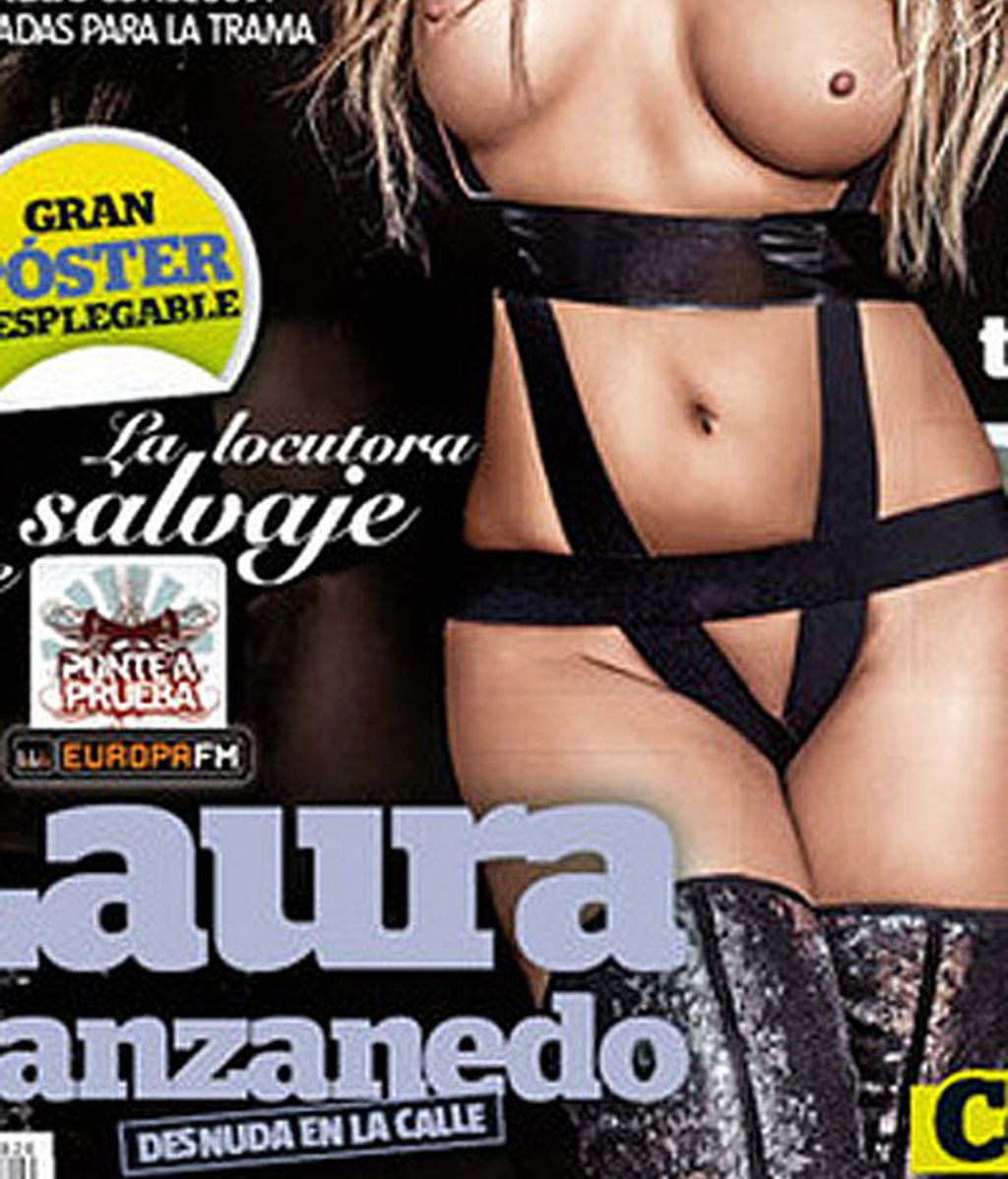 Laura Manzanedo se desnuda en Interviú