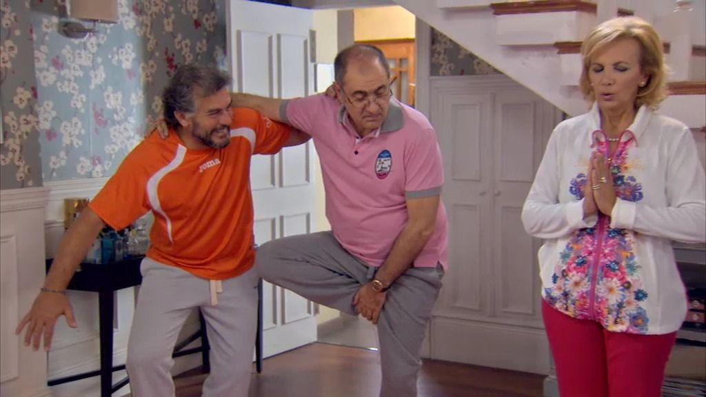 Maruchi y Piluca, adictas al yoga