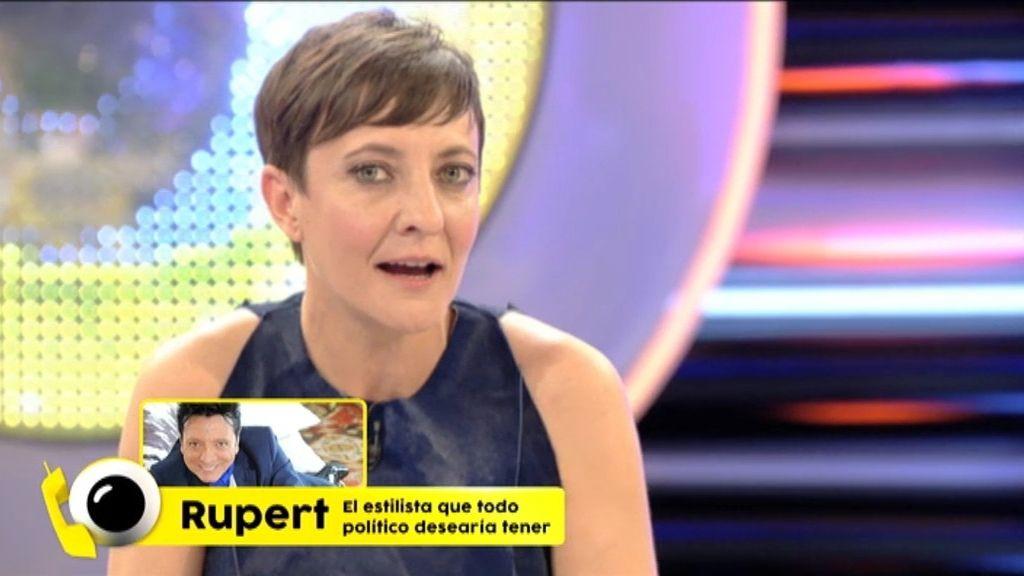Rupert le da unos consejos de peluquería a Pablo Iglesias en 'Guasabi'