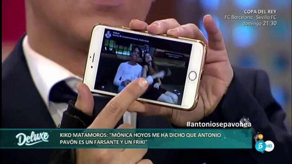 Las imágenes que confirman los encuentros entre Mónica Hoyos y Antonio Pavón