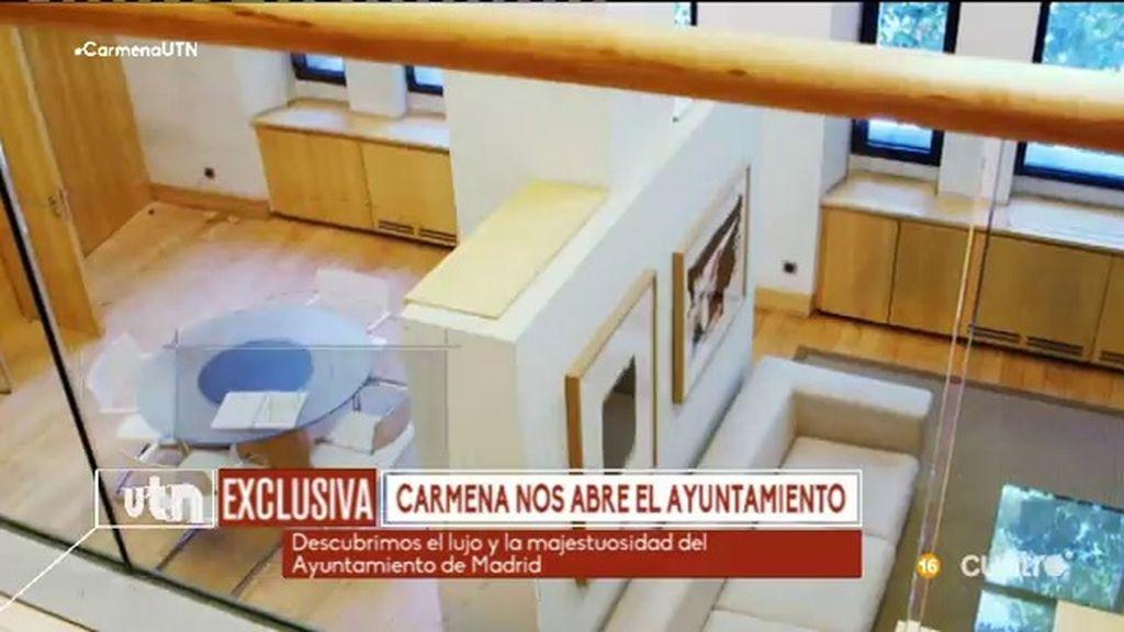 Así es el 'despacho-apartamento' del Ayuntamiento de Madrid