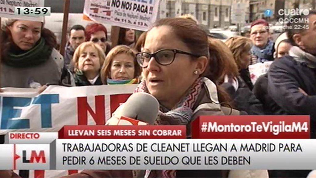 Trabajadores de Cleanet, subcontratada por Defensa para limpiar cuarteles, llevan 6 meses sin cobrar