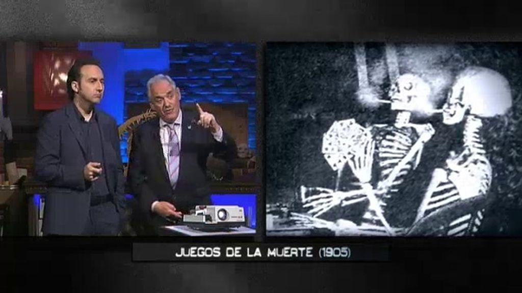 El retroproyector: huesos y calaveras