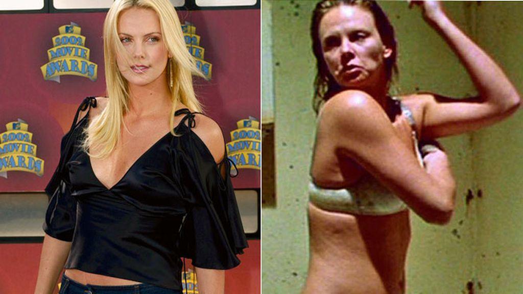 Charlize Theron engordó cerca de 15 kilos para protagonizar 'Monster' en 2003