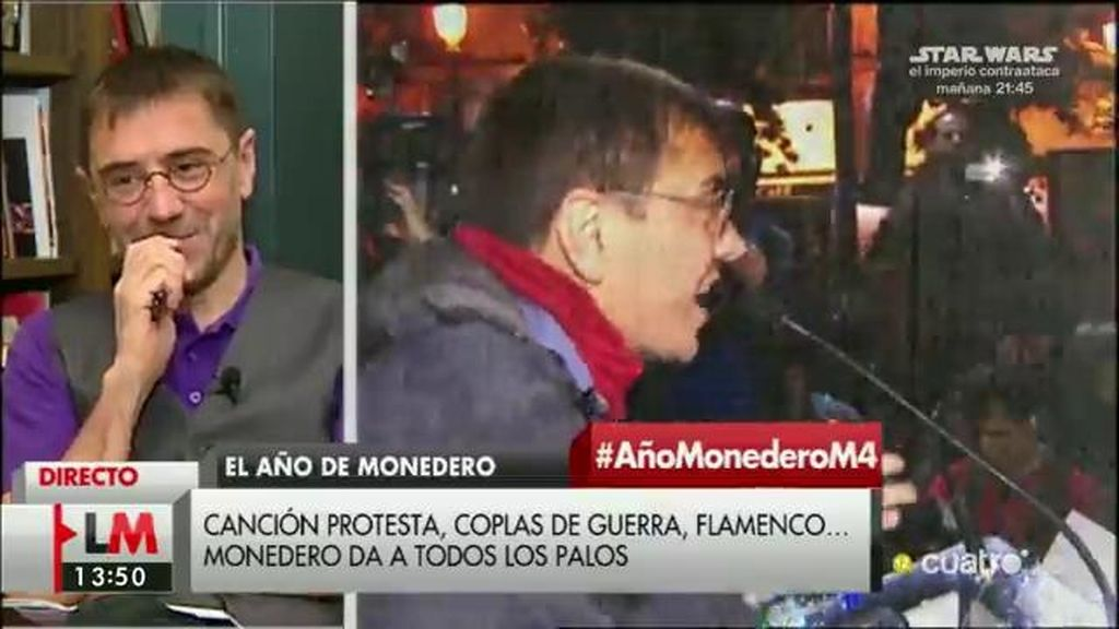 Juan Carlos Monedero: El Musical