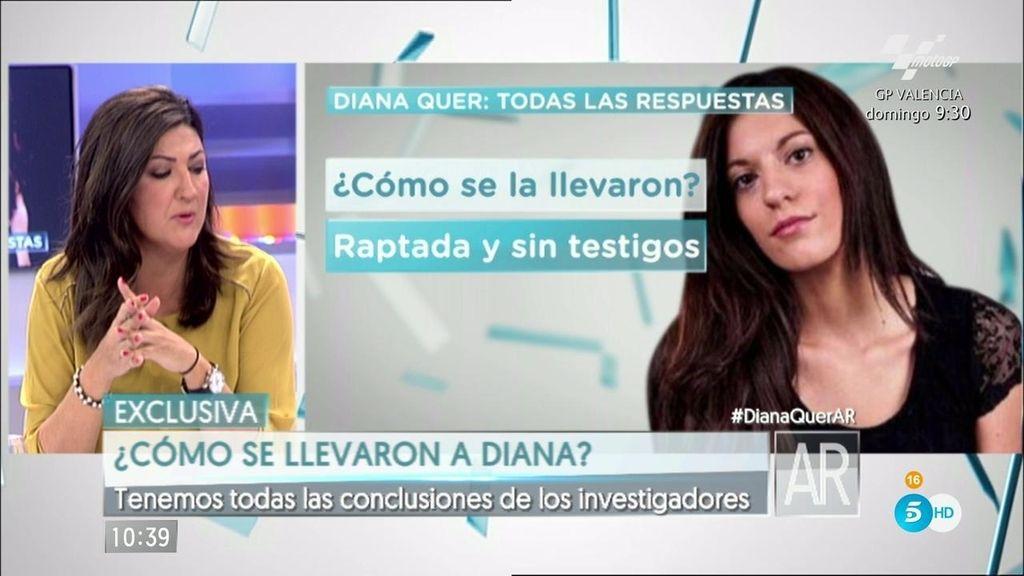 El móvil de Diana Quer emite su última señal 15 minutos después de su último whatsapp