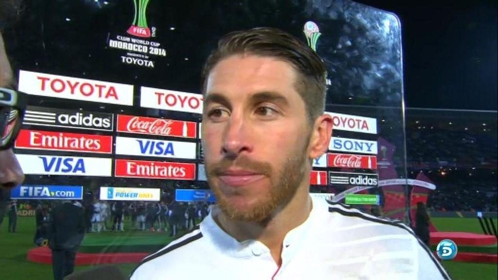"""Sergio Ramos: """"Sinceramente, he arriesgado jugando la final del Mundialito"""""""