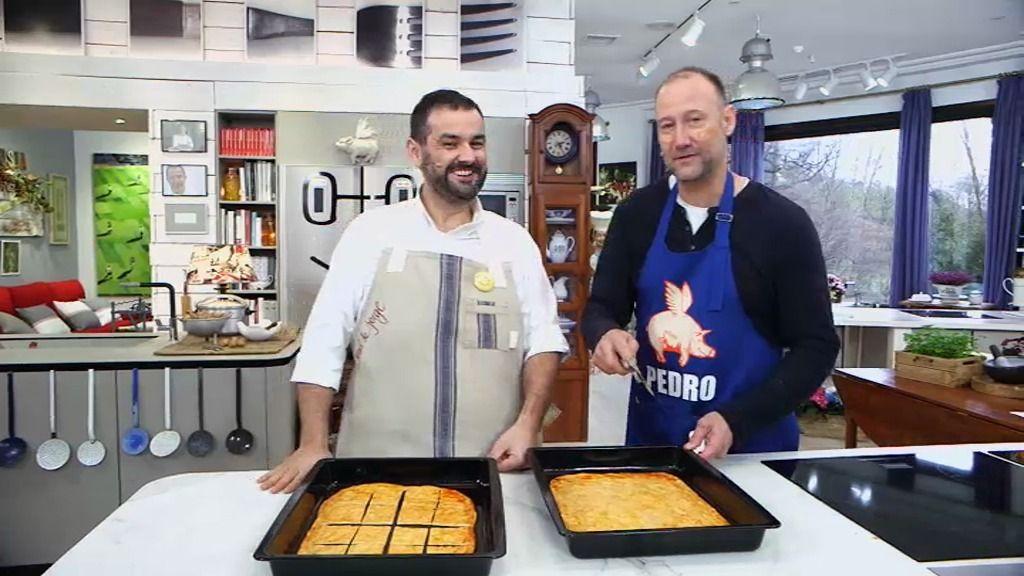 T01xP120: 'Torta de pimentón y ensalada de naranjas y limones con Pedro G. Aguado'