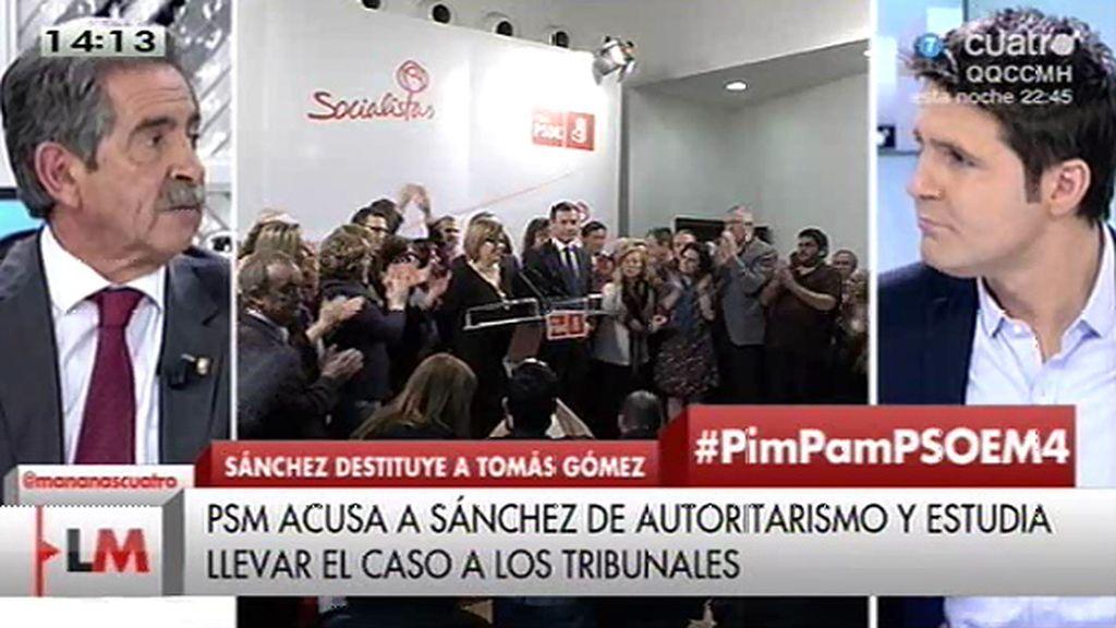 """Revilla: """"Esta es la guerra civil del PSOE"""""""